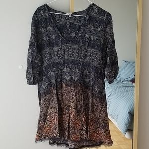 Urban Outfitter Ecoté Boho Summer Dress